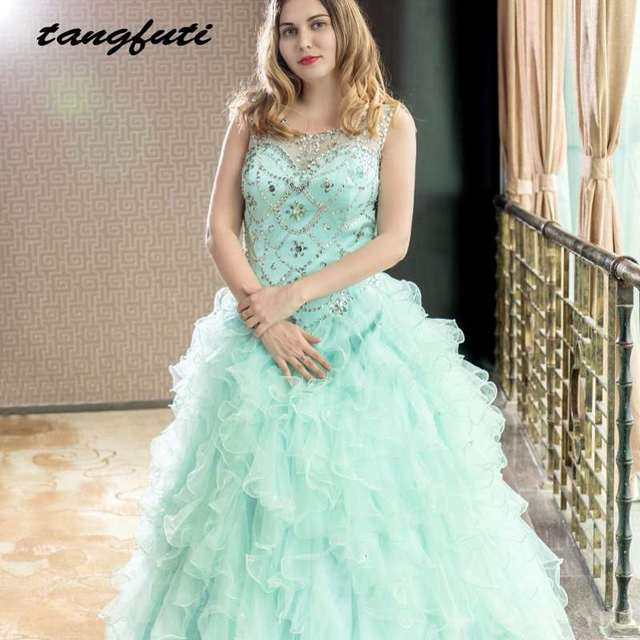 Gorgeous Quinceanera Dresses 2018 Masquerade Ball Gowns Puffy Fully ...