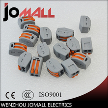 цена 100Pcs PCT-212 2 Pin Universal compact wire wiring connector conductor terminal block with lever онлайн в 2017 году