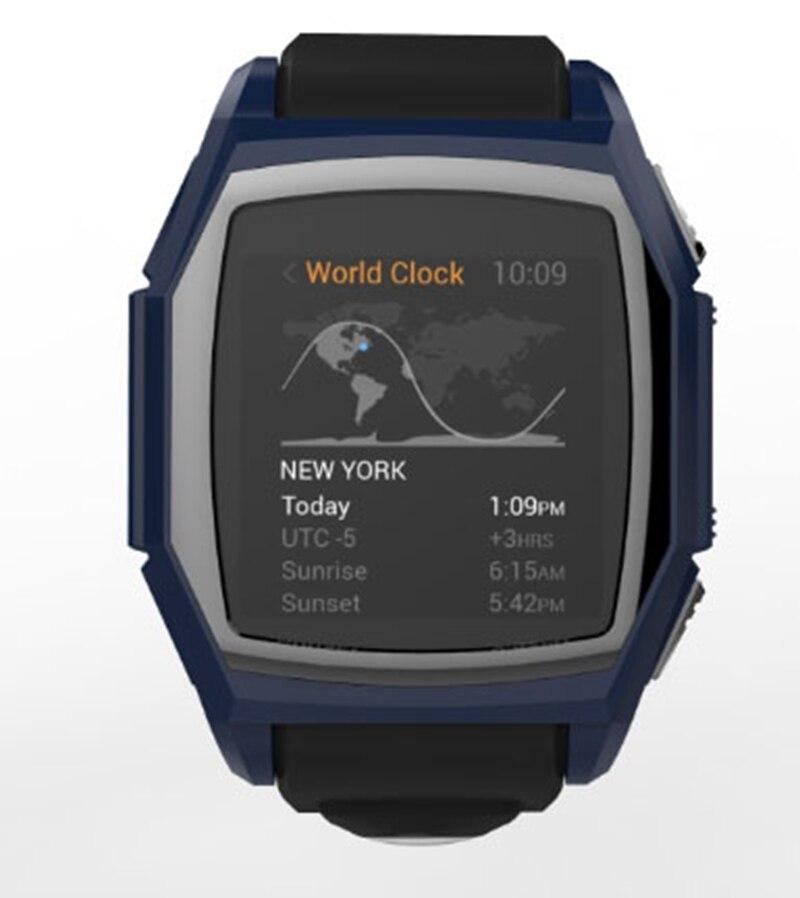 ot03 Men Heart Rate Smart Watch GT68 Smart Clock Intelligent GPS SIM Activity Tracker Outdoor Compass Watch For Android Phone
