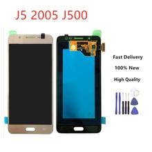 For Samsung Galaxy J5 LCD For Samsung J5 J500 J500F J500FN J500Y J500M Adjustable Lightness LCD Display Touch Screen Digitizer цена