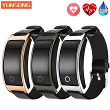 CK11S Smart Bande Coeur de La Pression Artérielle Moniteur De Poignet Montre Intelligente Bracelet de Remise En Forme bracelet Tracker Podomètre Bracelet