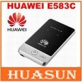 Desbloqueado huawei e583c portátil 3g hsdpa mifi wifi modem roteador wireless de banda larga móvel dropshipping (não novo)