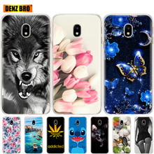 For Samsung Galaxy J7 2017 J730F Pro Case Soft TPU Silicone phone Cover for J730 protective coque bumper