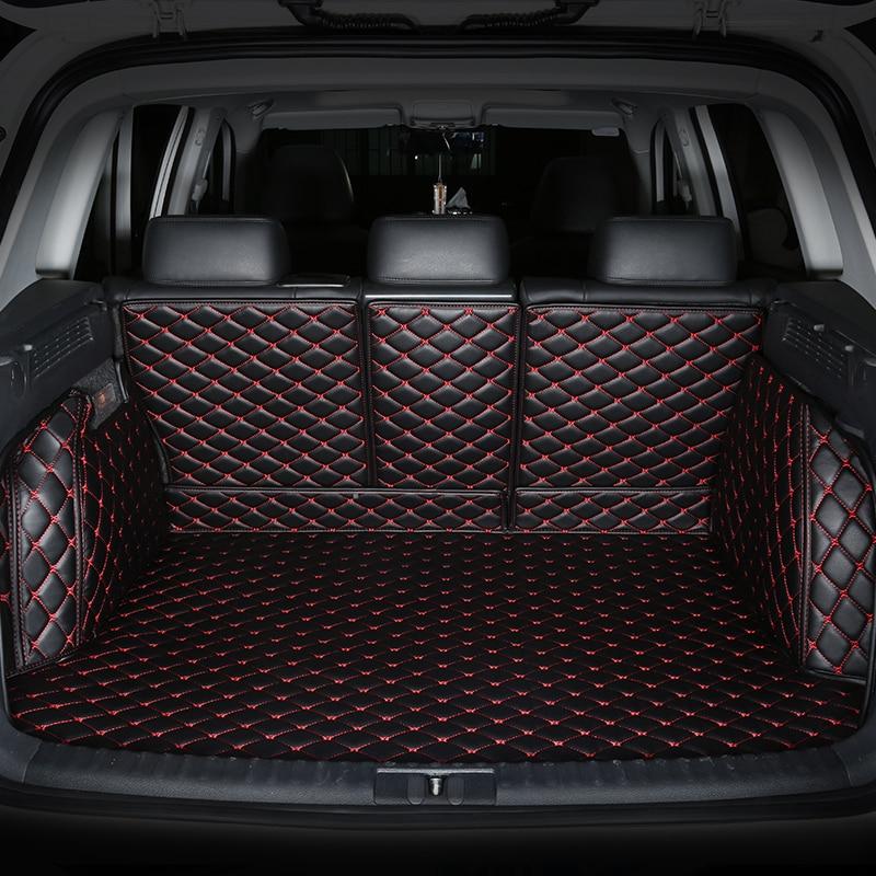 3D Full Covered No Odor Waterproof Carpets Durable Special Car trunk Mats For Volkswagen Beetle Golf Tiguan Sharan Passat CC EOS