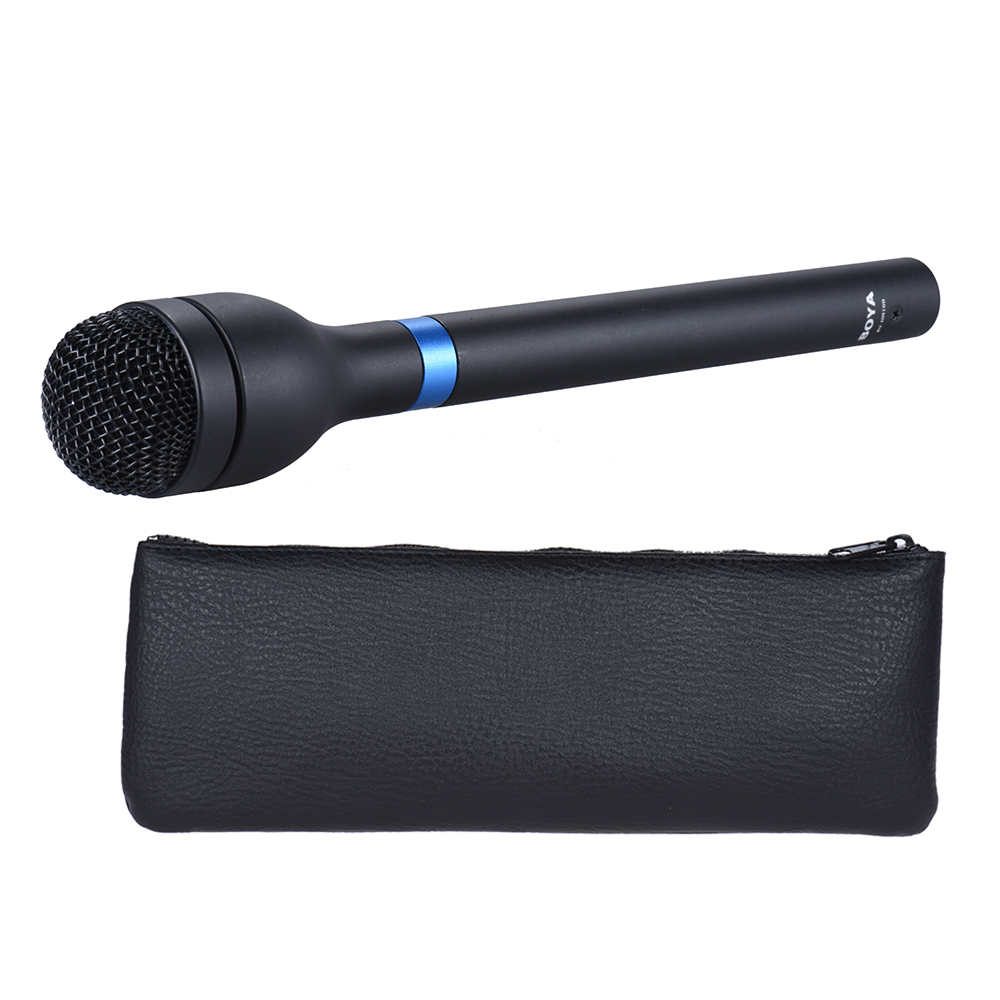 boya microphone handheld dynamic mic omni directional xlr connector alloy mic for eng interview. Black Bedroom Furniture Sets. Home Design Ideas
