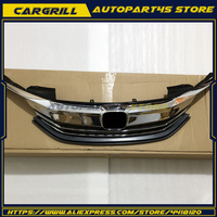 For 9th Gen Honda Accord Sedan Chrome Black Original Style Front Grille 2016 17