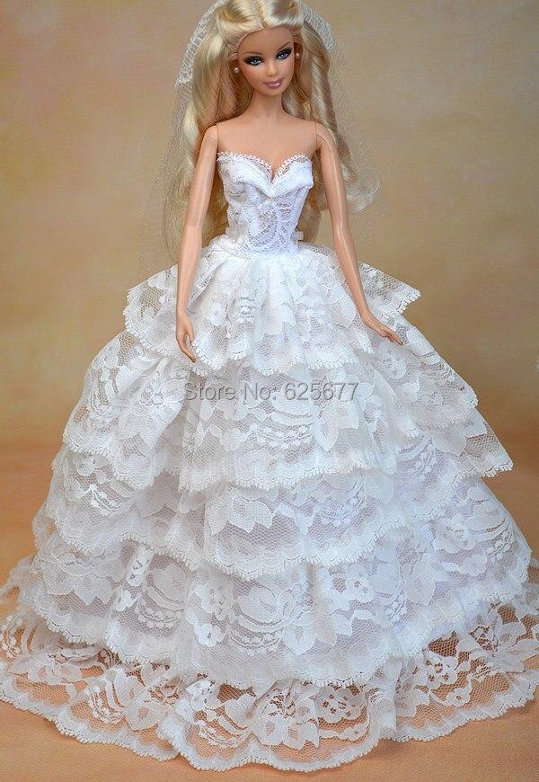 Como hacer vestidos de novia para munecas