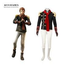 Free Shipping New Final Fantasy Type-0 Suzaku Peristylium Class Zero NO.8 Eight Cosplay Brand Costumes