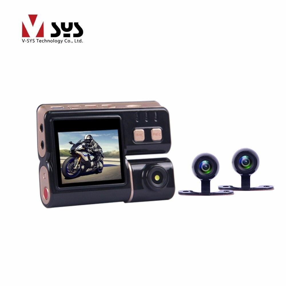 В таблице sys горячая продажа дешевый мотоцикл С3 видео камеры двойной 6г водонепроницаемые камеры