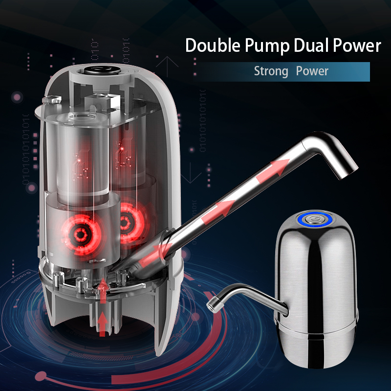 Kbxstart Electric Cold Water Dispenser Portable Mini Desktop Dispensador De Agua Articulos De Cocin Drink Water