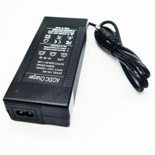 HK Liitokala 54.6 V çıkış 2A 13 S 48 V lityum iyon batarya DC 54.6 V lityum polimer pil şarj cihazı