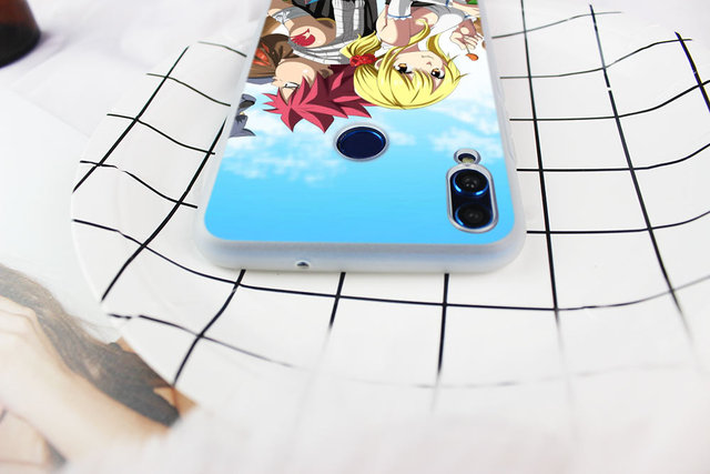 Fairy Tail logo Case Cover For Huawei Honor 9 10 Lite 6X 7X 8X Max 7A 8A 8C 20 PLAY 9x