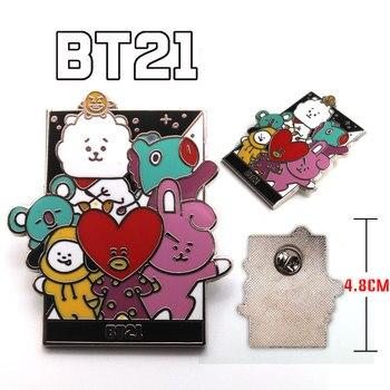 Брошка BTS BT21 к-поп