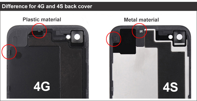 sale retailer 60665 080f6 US $5.98 |High quality back case for iPhone 4 4G 4S iphone4 iphone4s back  cover battery cover back housing free shipping on Aliexpress.com | Alibaba  ...