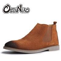 Glitter Cowboy Boots Men Leather Boots Autumn Men Chelsea Boots Split Leather Men Ankle Boots Bota