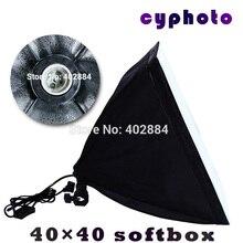 Tax Free A Rusia 110-240 v Fotografía 40*40 cm Softbox Portalámparas E27 Para El Estudio Continuo no incluyen Las Lámparas de iluminación