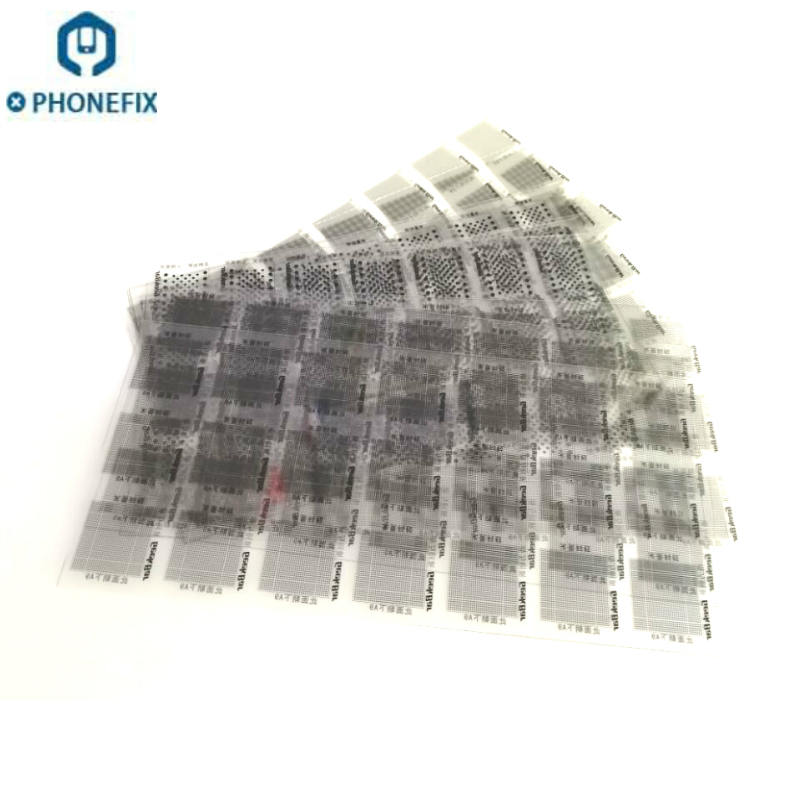 252pcs Solder Mask Ink Tool Kit For IPhone IPad NAND Flash CPU Power Touch IC Chip Reballing Tools