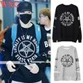 Jackson got7 camisola do hoodie apenas para a direita mulheres moletom manga longa harajuku marca kpop capuz clothing wxc