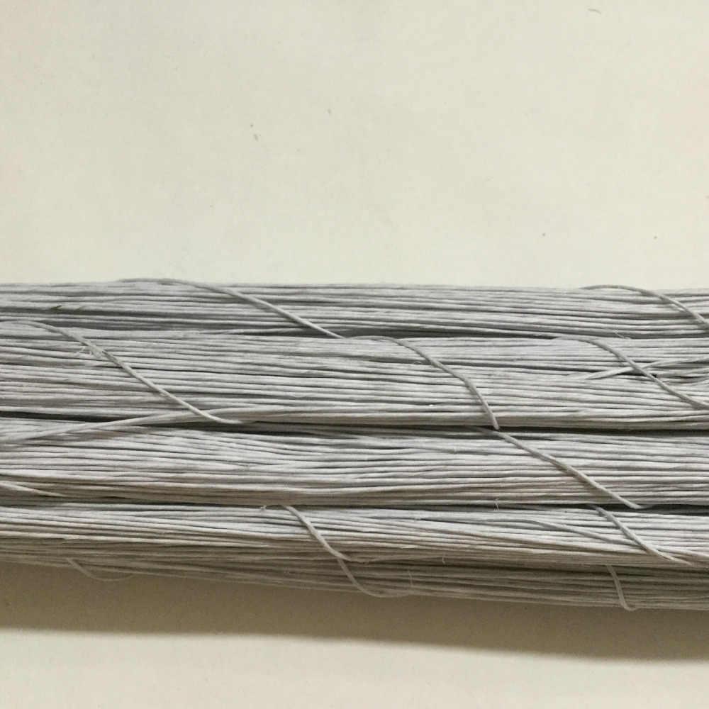 50 יח'\חבילה 26 #0.45mm 10CM באיכות גבוהה נייר מכוסה סניפים מלאכותיים זרדים ברזל חוט עבור DIY/ניילון פרח אבזר