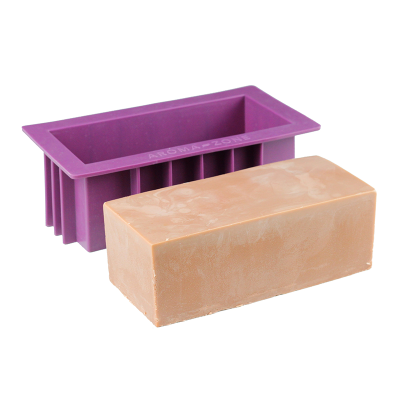 Nicole Silicone Soap Mold Rectangular Handmade Loaf Mould