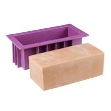 Силиконовая форма для мыла Nicole Прямоугольная форма ручной работы