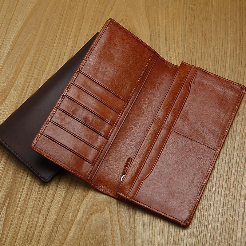 LANSPACE 정품 가죽 지갑 남성 지갑 브랜드 지갑 지갑 - 지갑