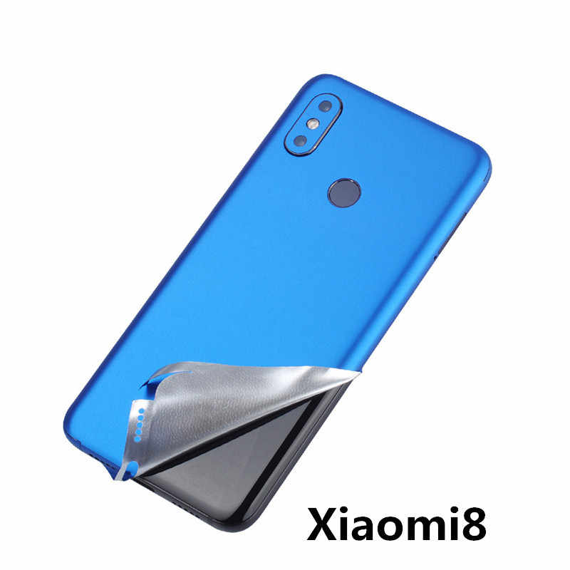 SIANCS Fashion 1pcs Mobile Phone Back Film Protector Scratchproof  For xiaomi8 ultra-thin Covered With Protective Film stickers