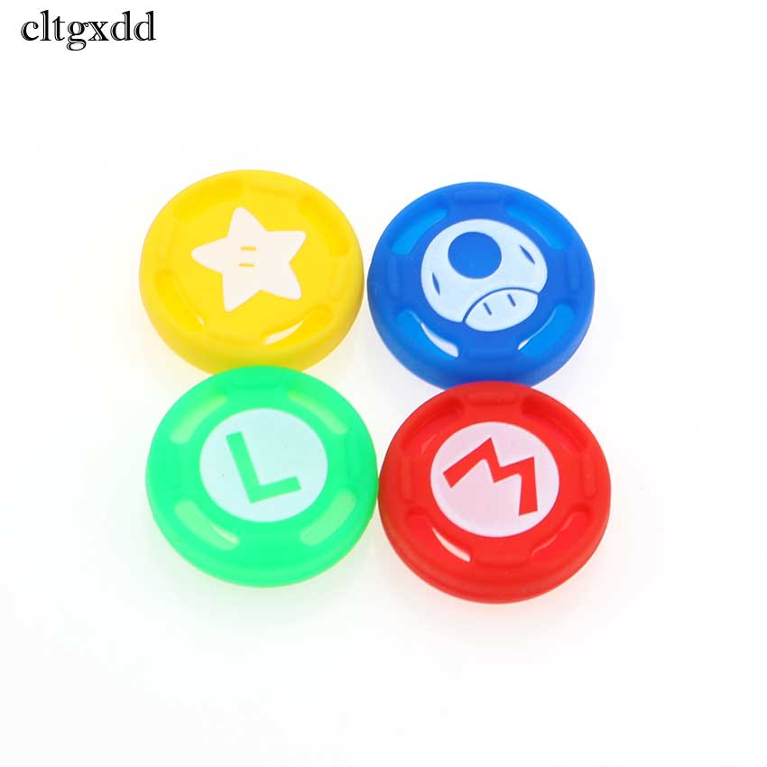 Cltgxdd Silicone Analog Thumb Sticks Grips For Sony PS4 Slim Pro For Switch Pro Controller Caps Cover For Xbox One X S Xbox360