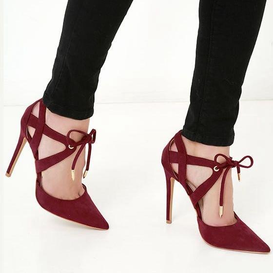 Zapatos de tacón alto de mujer Zapatos de tacón de aguja con detalle de hebilla marrón Zapatos Mary Jane Zapatos de tacón grueso qvJHVv