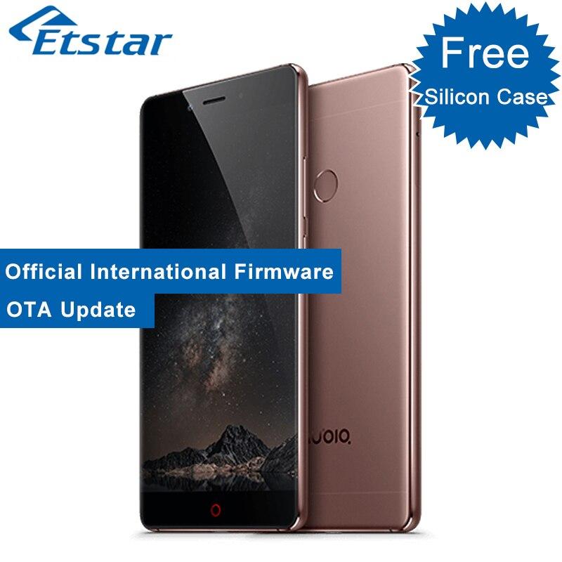 Цена за Оригинал zte nubia z11 5.5 ''mobile телефон pro премьер без границ 6 ГБ RAM 128 ГБ ROM Snapdragon 820 Quad Core Отпечатков Пальцев 3000 mAh