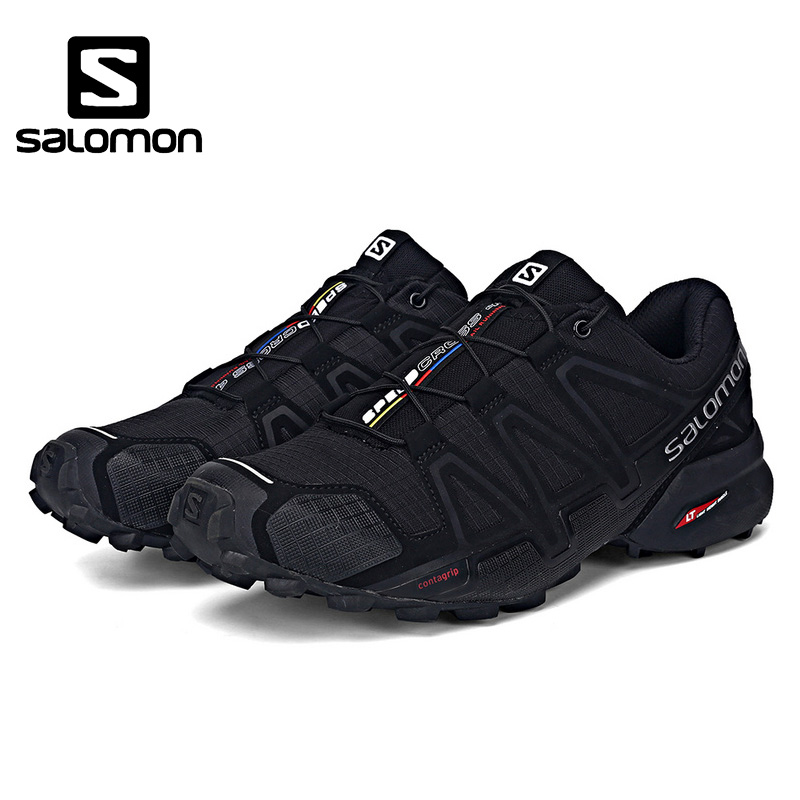 Salomon Speed Cross 4 CS Zapatos de hombre Running shoes Brand Sneakers  Male Athletic Sport Shoes SPEEDCROS Low Fencing Shoes 2e117994533c