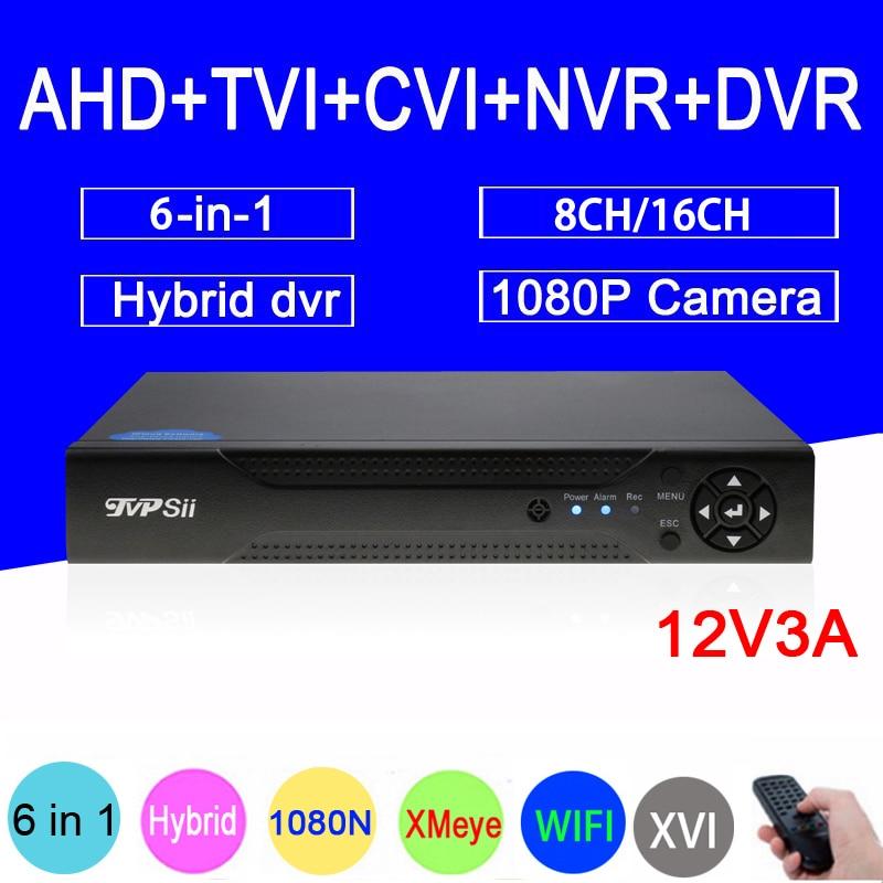 1080P/960P/720P/960H Surveillance Camera XMeye Hi3521A 16CH/8CH 1080N 6 in 1 Coaxial Hybrid WIFI XVI TVi CVI IP NVR AHD CCTV DVR gadinan 8ch ahdnh 1080n dvr analog ip ahd tvi cvi 5 in 1 dvr 4ch analog 1080p support 8 channel ahd 1080n 4ch 1080p playback