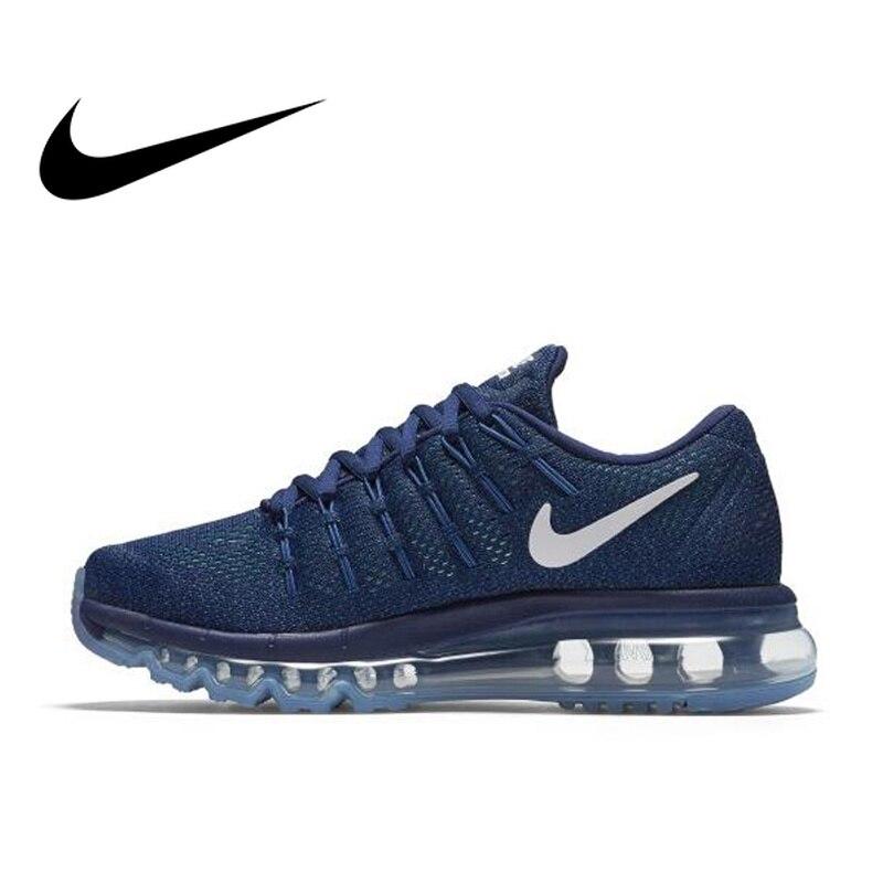 NIKE Original respirant AIR MAX femmes chaussures de course sport baskets de plein AIR marche Jogging baskets confortable 806772