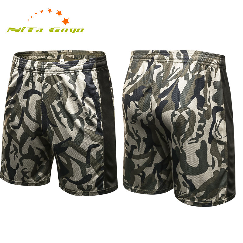 Men Pro Printing shorts Gym Running Sports Pan Breathable and Qick Dry Pans Male Training Shorts