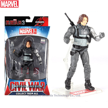 Hasbro Marvel Toys The Avenger Endgame 17CM Super Hero Thor Winter Soldier Wolverine Spider Man Iron Man Action Figure Toy Dolls marvel toys the avenger infinity war super hero spider man pvc action figure toy dolls xd340
