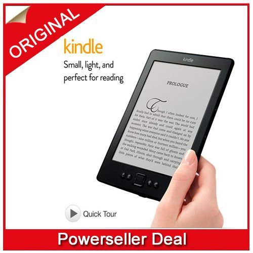 """Amazon Kindle, Wi-Fi, 6"""" E Ink Display - includes Special Offers & Sponsored Screensavers"""
