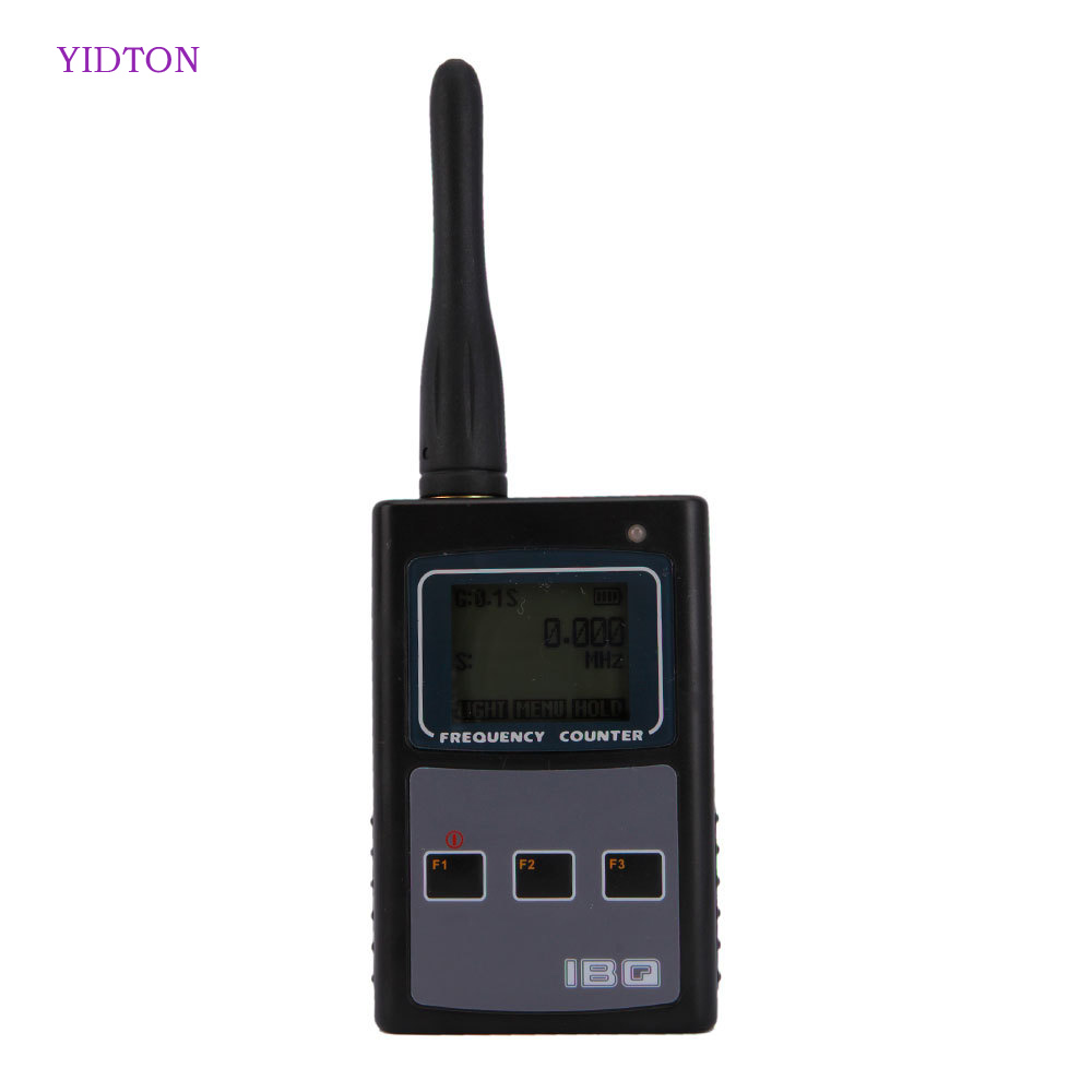 Professional Radio Communction Factory Store IBQ102 10Hz-2.6GHz Portable Frequency Counter Scanner Meter for Walkie Talkie Transceiver Handheld Two Way Ham Radio Station
