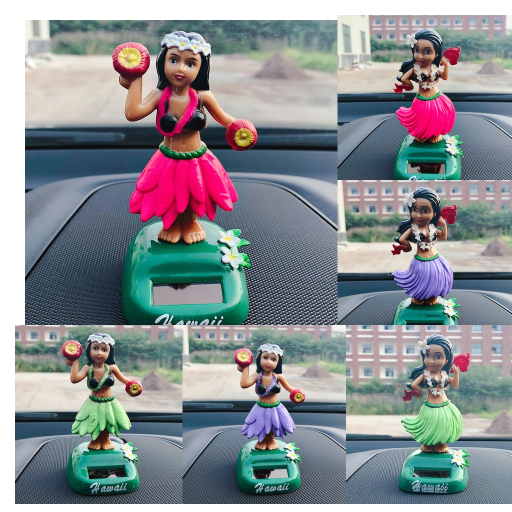 Toddler Car Dashboard Us 8 06 47 Off Lulu Party Girl Solar Power Head Bobbing Car Dashboard Bobbleheads Statues Toy Home Car Office Dancer Girl In Gags Practical Jokes