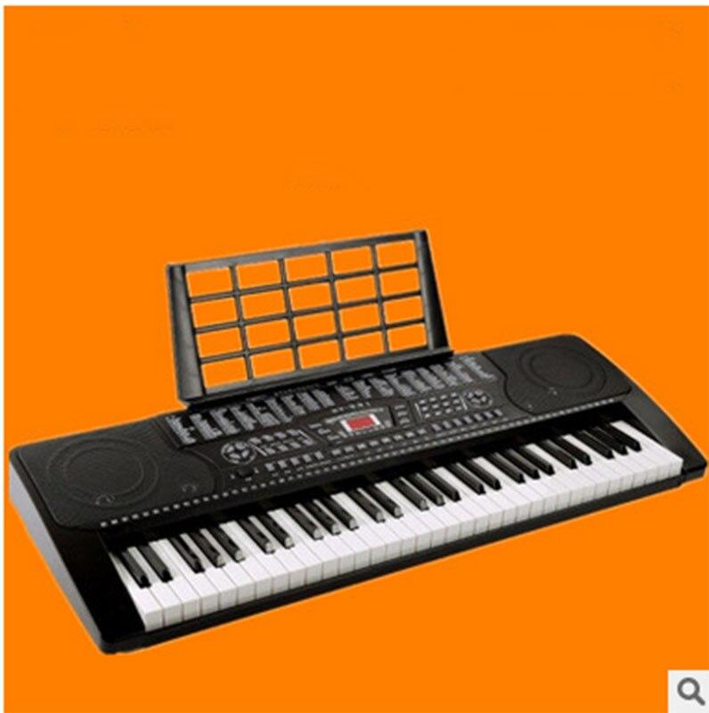 331 умный учебного орган XY331 клавиши пианино 61 клавишная клавиатура для взрослых и детей начинающих электронный орган
