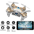 Mini RC Helicopter Toys For Phone Wifi App Controlled FPV Done 4-Axis Gyro RC Quadcopter HD Camera Remote Control Model