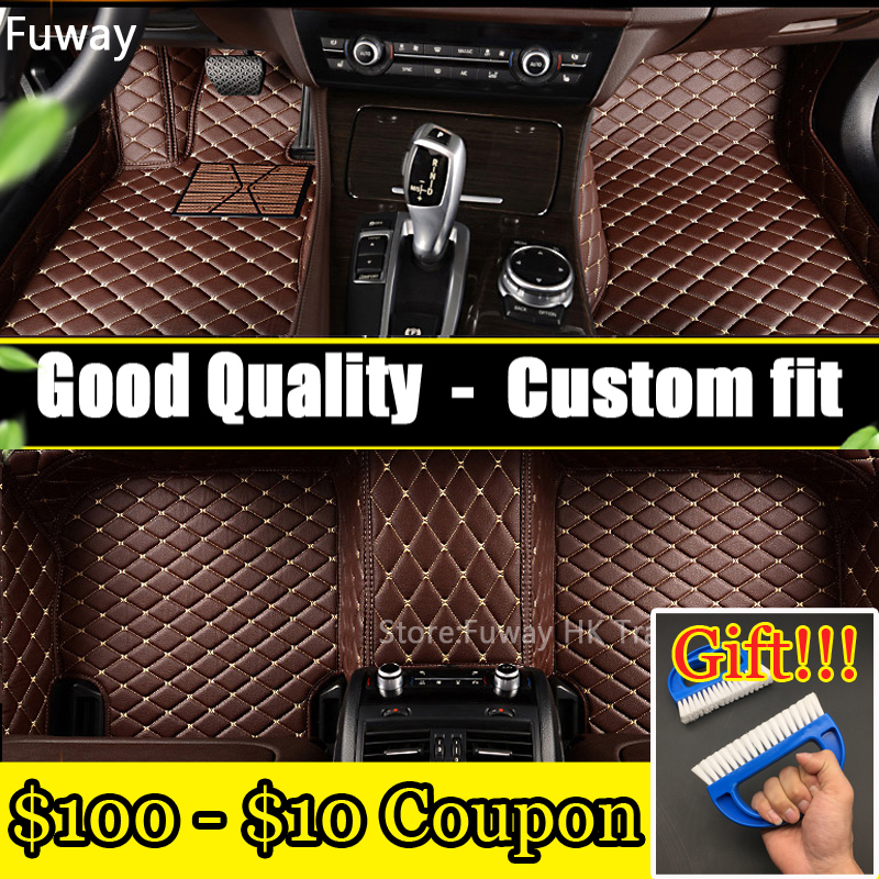 Custom car floor mats for KIA K2/3/4/5 Kia Cerato Sportage Optima Maxima carnival Rio ceed Foot Carpets Rugs car-styling kalaisike leather universal car seat covers for kia all models ceed rio sportage sorento optima cerato k2 k3 k4 k5 car styling