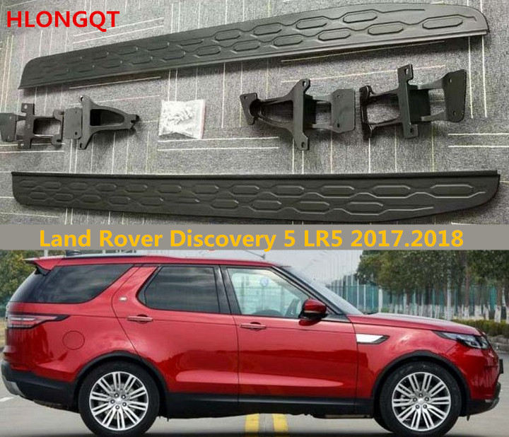 2018 land rover lr5. Exellent Land Aliexpresscom  Buy HLONGQT Auto Running Boards For Land Rover Discovery 5  LR5 20172018 Side Step Bar Pedals High Quality Nerf Bars Accessories From  Inside 2018 Land Rover Lr5