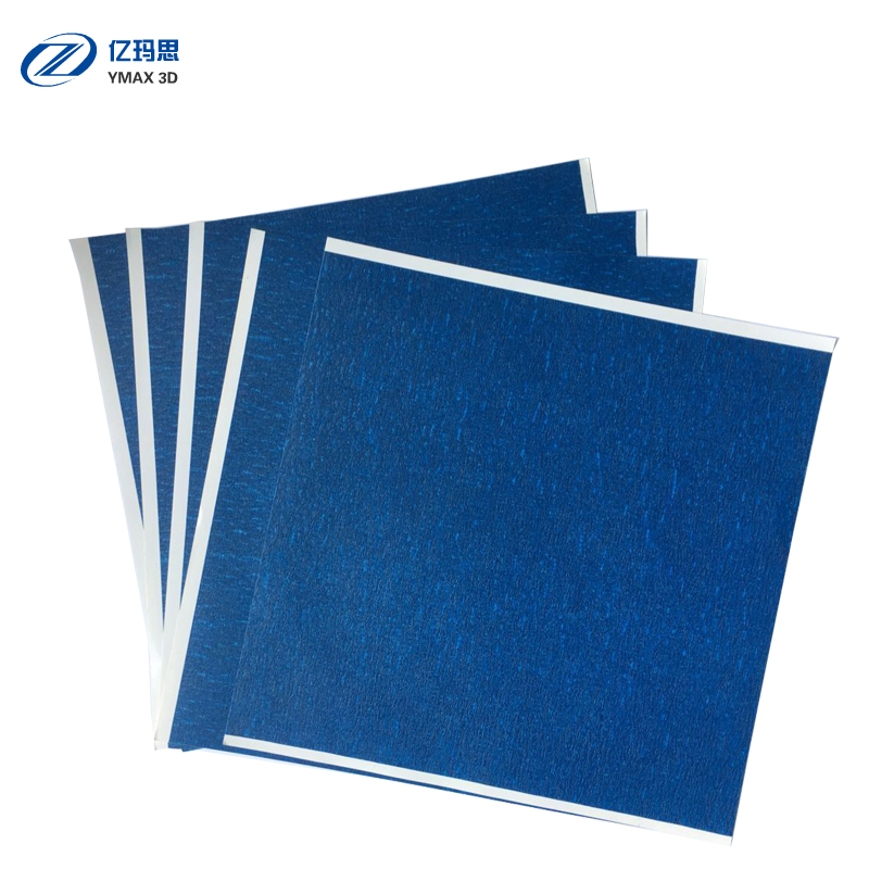 YIMASI Store 5pcs 3D Printer Heating Bed Blue High temperature Tape 200mmx210mm with Rubber Adhesive Material Paper