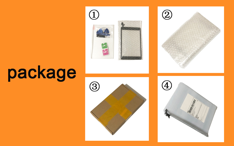 1Pcs For iPad mini 4 Mini4 A1538 A1550 LCD Display Touch Screen Digitizer Panel Assembly Replacement Part  Free shipping