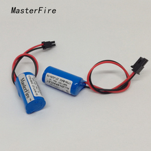 MasterFire 5pcs/lot New Original Allen Bradley 1756-BA2 PLC Controller 3V Lithium Battery Batteries Free Shipping