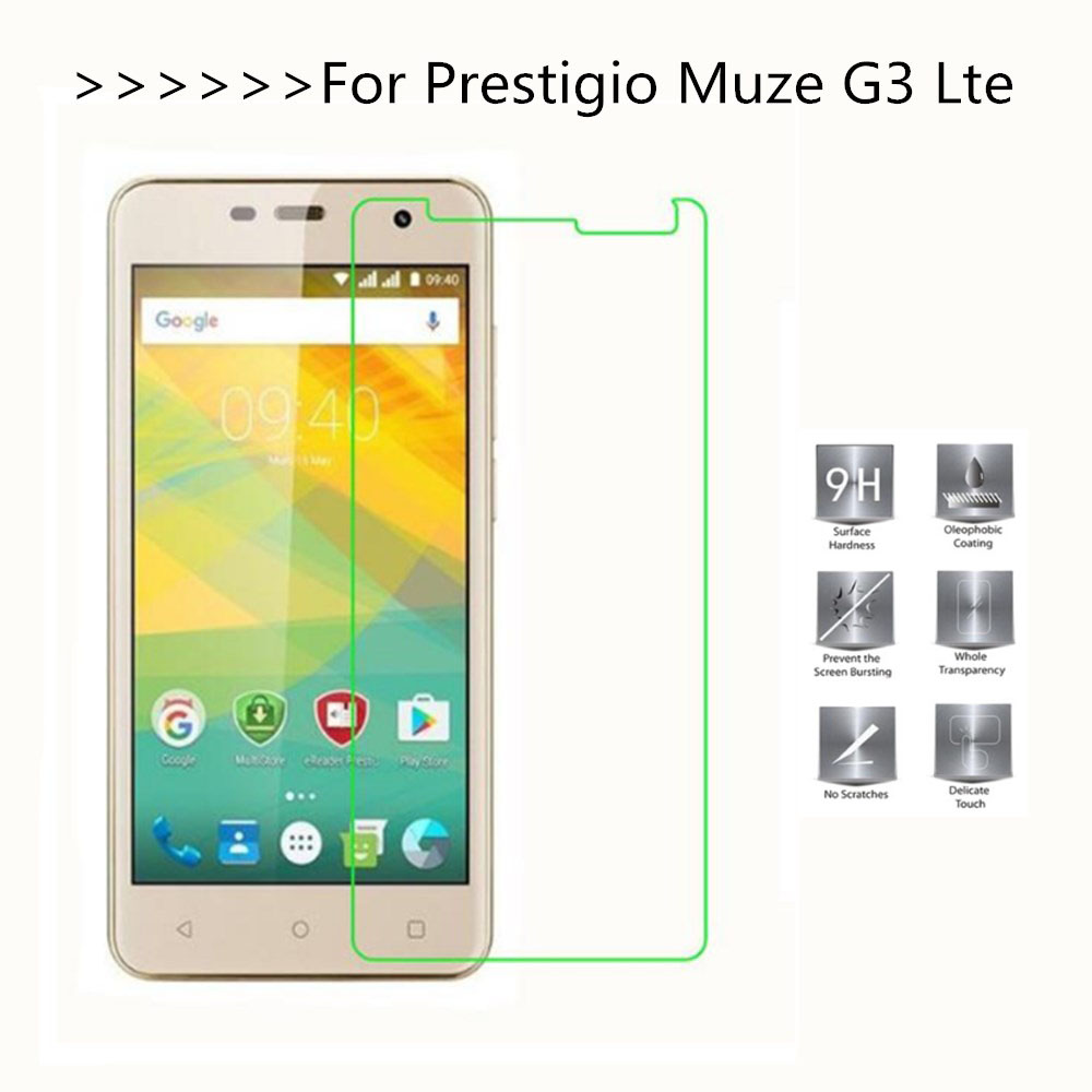 For <font><b>Prestigio</b></font> Muze G3 Lte Tempered Glass Screen Protector 9H 5.0