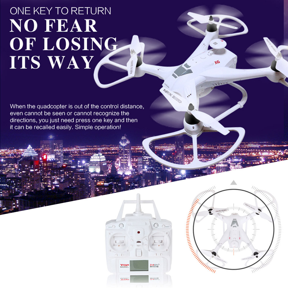 RC Drone Global Drone X161 5.8GHz FPV HD 2MP CAM 2.4GHz 4CH 6 Axis Gyro Quadcopter Drone Waterproof Headless Mode Helicopter