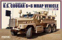 Meng Model SS-005 1/35 AMERIKAANSE Cougar 6x6 MRAP Voertuig MODEL KITS NIEUW IN DOOS