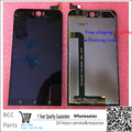 Original! la mejor calidad! pantalla lcd + pantalla táctil digitalizador para asus zenfone selfie zd551kl z00ud negro 100% nueva prueba ok