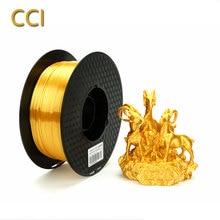 3d Принтер Нити 3d Ручка накаливания шелковая шаль золото 1 кг шелковистый pla Золотой материалы для 3D-печати